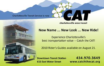 Charlottesville Area Transit service (CAT)