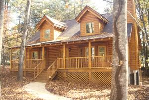 Catawba Style Cedar Log Home