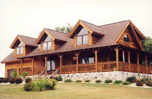 Rappahannock Cedar Log Home