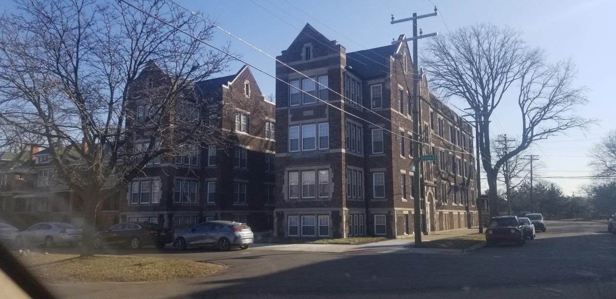 Glyn Court and Byron, Detroit, MI, 48206 United States