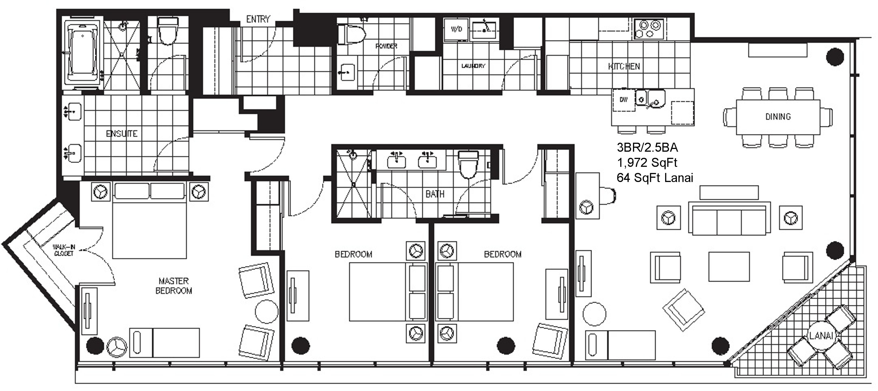 trump tower waikiki floor plans