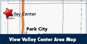 View Valley Center Area Map