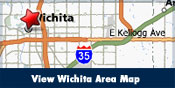 View Wichita Area Map