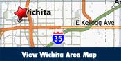 View Wichita Area Map