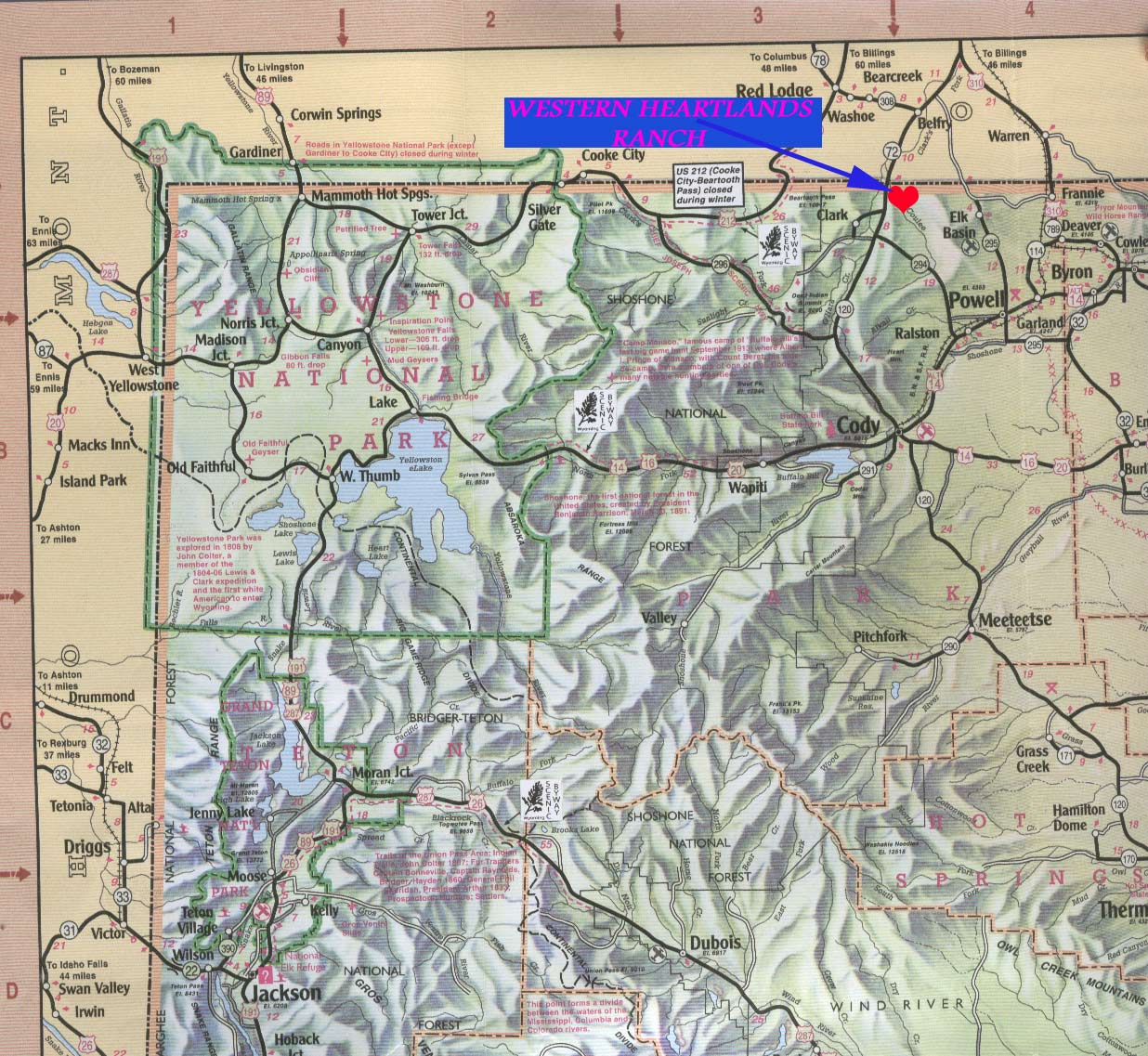 35 ACRES NEAR CODY WYOMING AND YELLOWSTONE PARK 5 DOWN