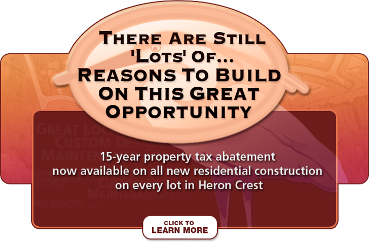 Heron Crest - Residential Tax Abatement