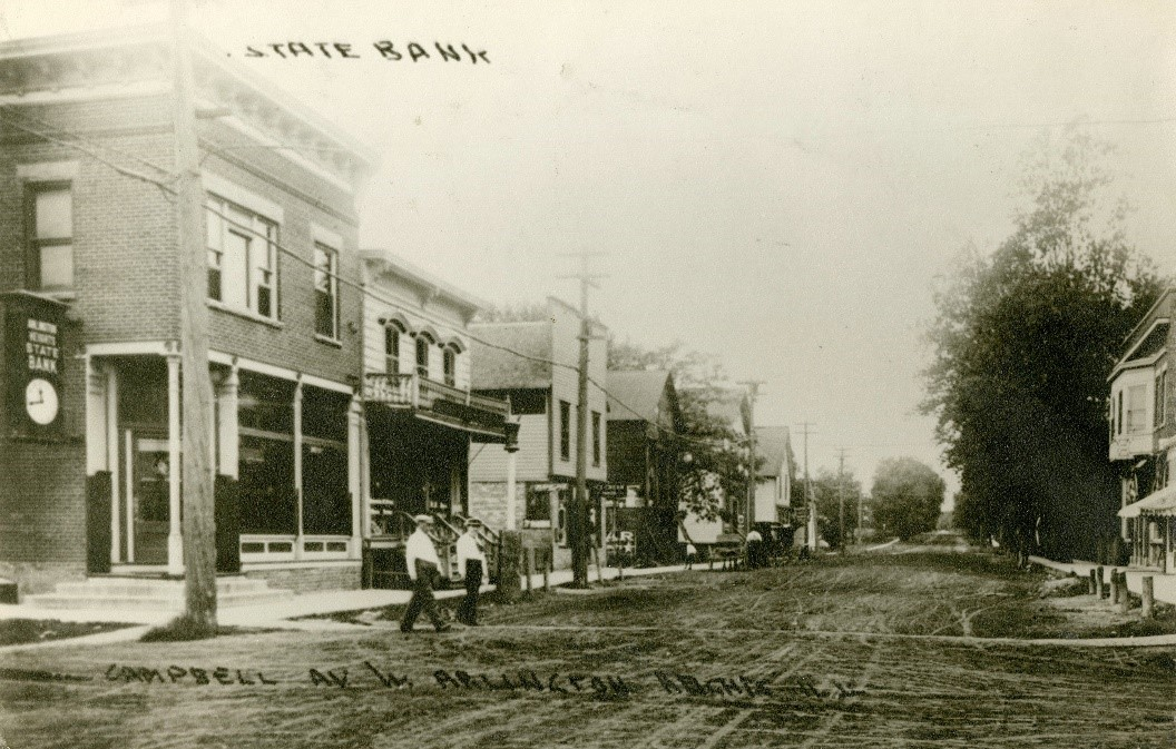 Historical picture of Downtown Campbell Street